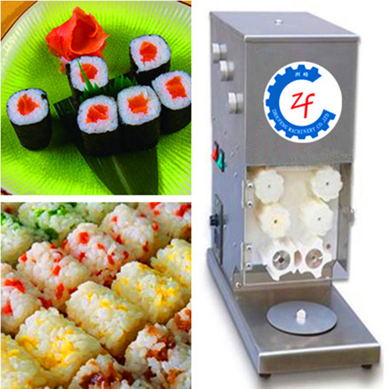 Automatic sushi rice roll sheet robot machine /maki roll maker sushi maker onigiri roll ball cutter roller a1474