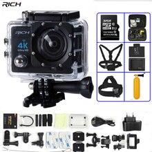 Экшн-камера 4 к Ультра HD WIFI gopro hero 4 Stlye 1080 P/30fps 2,0 lcd 170 объектив Дайвинг водостойкий 30 м DV шлем Cam Спортивная камера