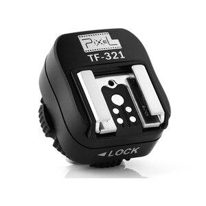 Image 4 - PIXEL TF 321 Flash Adapter TTL PC Port Hot Shoe Converter For Canon 5D Mark III 70D 60D 100D 700D 650D 600D 550D 500D 6D 430EX