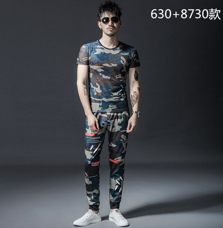 SIMWOOD 2019 summer new cargo jeans men fashion hip hop Spliced street wear ankle length denim