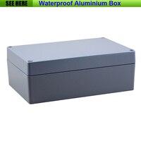 Free Shipping 1piece Lot Top Quality 100 Aluminium Material Waterproof IP67 Standard Aluminium Electronic Box 222