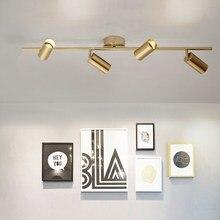 Lámpara de cristal nórdica colgante con personalidad para tienda, lámpara de techo con bola de metal, barra de luces colgantes, candelabro moderno