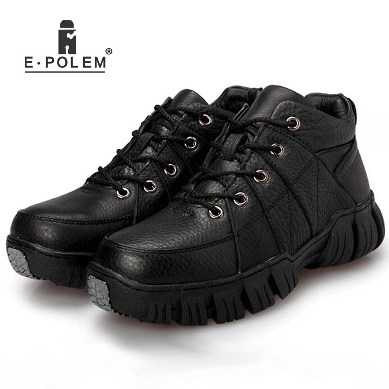 Chaussures Hommes dark Chaudes De En Black Élégant Haute Occasionnels Véritable Cheville Pour Brown top Plat Cuir a7Y6q16I