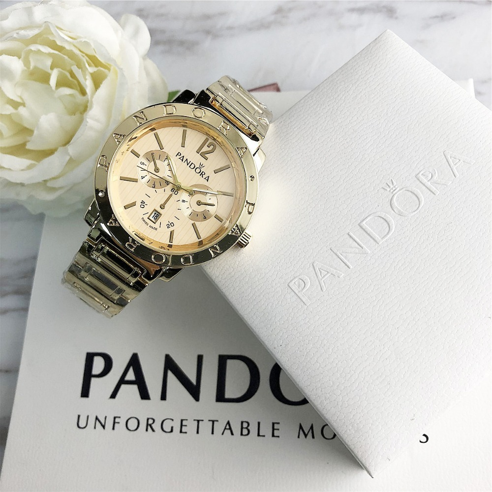 pandora watch Women Watches pandora bracelet charms silver 925 original Luxury  Ladies Watch For
