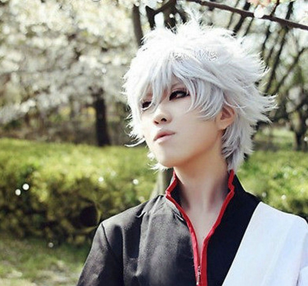 White Haired Anime Boy Cosplay Www Topsimages Com