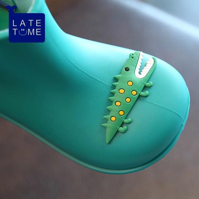 Dwayne nowe antypoślizgowe ciepłe buty kreskówka lew krokodyl - Obuwie dziecięce - Zdjęcie 5