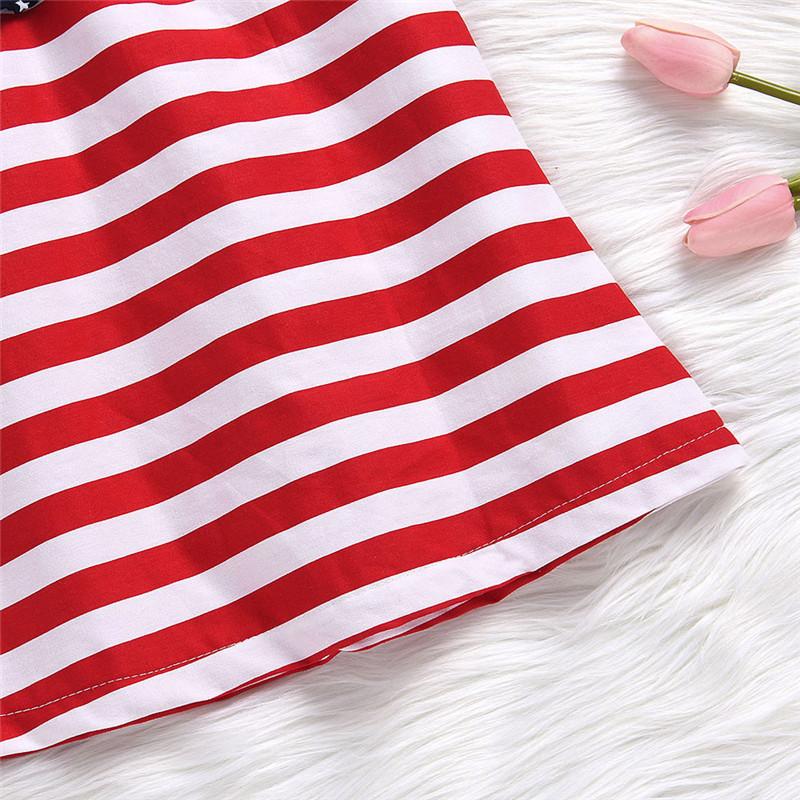 HTB1VUGOdi6guuRjy0Fmq6y0DXXap - Baby Girls Infant Kids 4th Of July Star Dress Clothes Sundress Casual Sets T#