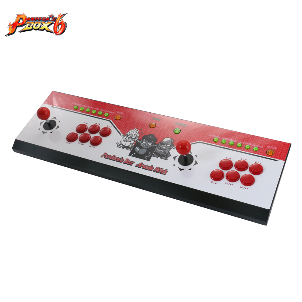 Latest Household classic design Pandora 39 s Box 6 arcade joystick machine multi games 1300 in 1 Joystick Consoles in Coin Operated Games from Sports amp Entertainment