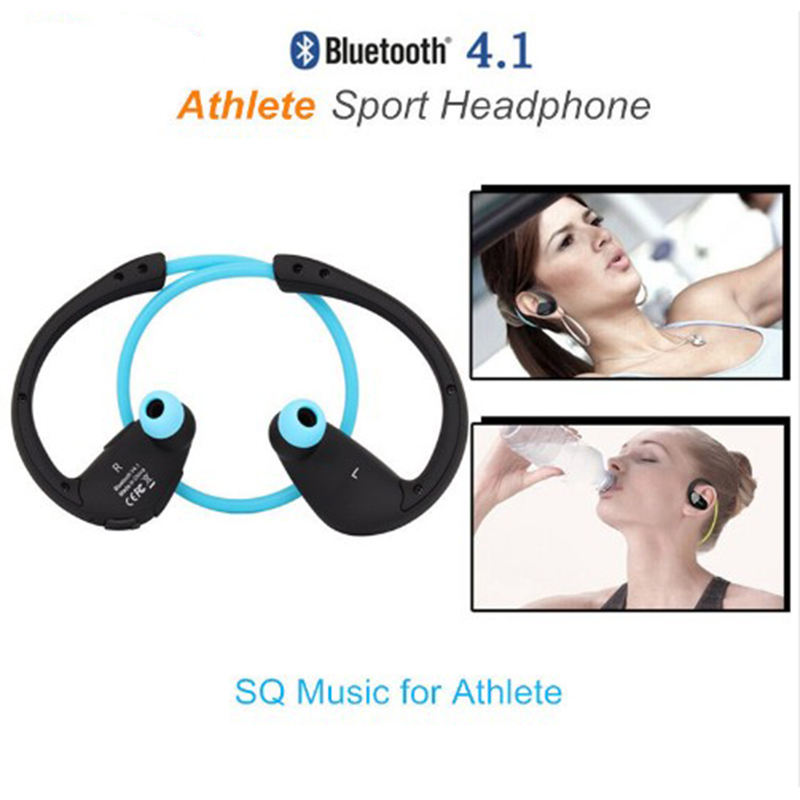 Athlete NFC Bluetooth Headphone Sweatproof Hifi Bass Sport Gaming Headset With Mic Battery Headphone For Cellphone Xiomi iphone