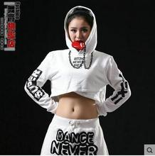 New Trend Autumn Hoodies for Grownup ladies Soid Colour Free Horny Feminine Hip Hop Dance Costumes Pullovers Sweatshirts Outwear
