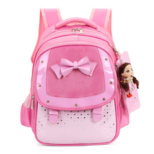Children School Bags For Girls Backpack Butterfly Nylon Orthopedic Princess Backpacks kid Book Bag Waterproof Primary