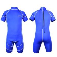 Layatone short neoprene wetsuit swimsuit 3mm for triathlon surf scuba diving snorkeling B1618