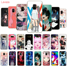 Lavaza Anime Darling in the FranXX Hard Phone Cover for Samsung Galaxy S8 S9 S10 Plus A50 A70 A6 A8 A9 2018 Case