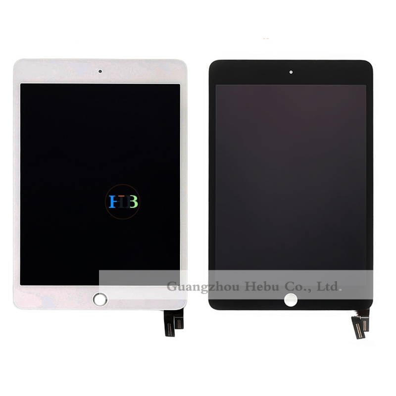 Brand New 100pcs Lcd Display With Touch Screen Digitizer Panel For Apple Ipad Mini 4 Lcd Screen White Black Free Shipping DHL vibe x2 lcd display touch screen panel with frame digitizer accessories for lenovo vibe x2 smartphone white free shipping track