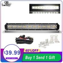 CO LIGHT Led Light Bar Offroad 12D High Power 390W 585W 780W 936W 975W 3-Rows Spot Flood Combo 4x4 Led Work Light for ATV Truck