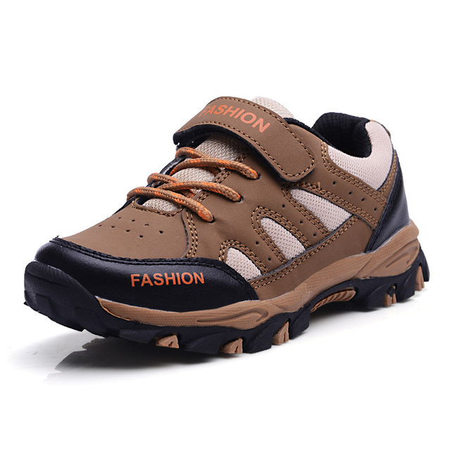 Children Boys Kids Sneakers Sports Running Kids Climbing Walking Shoes Breathable Nonslip Boys Girls Hiking Shoes