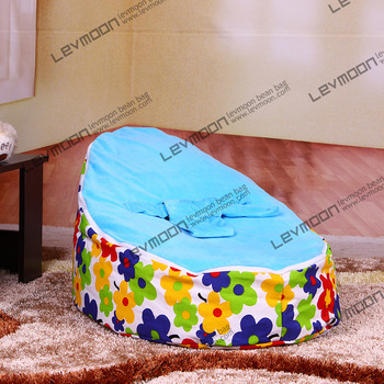 baby bean bag chair no filler with 2pcs up cover baby bean bag chair baby bean bag cover baby bean bags FREE SHIPPING baby bean bag chair with 2pcs black up cover baby seat cover baby bean bag cover children blue bean bag chair free shipping