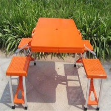 Składane Na Zewnątrz Stoły Stoły Przenośne camping stół Plaży tanie tanio Na zewnątrz tabeli Meble ogrodowe Samowystarczalny L85 5*W65*H66CM Minimalistyczny nowoczesny Nowoczesne NoEnName_Null
