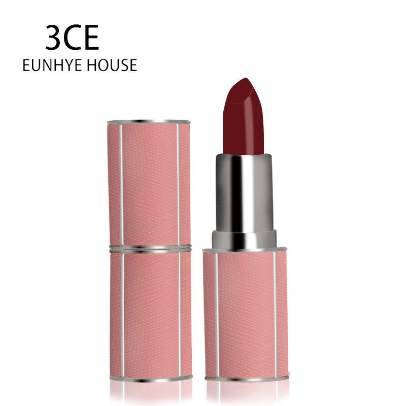 3CE EUNHYE HOUSE Moisturizing Lipstick Waterproof Easy To Wear Makeup Lip Sticks 6 Colors Velvet Long Lasting Lip Cosmetics 1