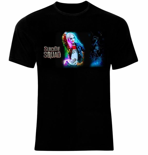 Margot Robbie Suicide Squad Harley Quinn Men Printed T-Shirt