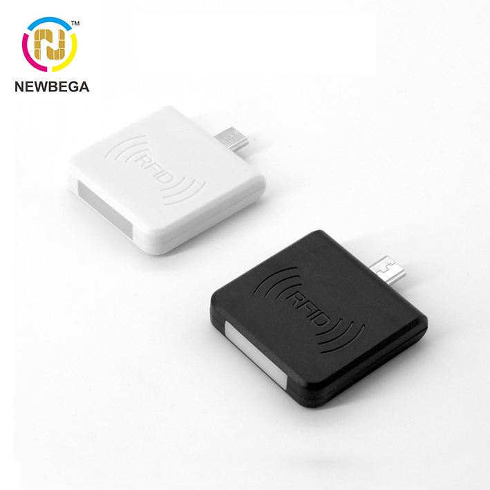 Mobile Phone RFID ID Card Reader R65D 125KHZ Suitable For Chip TK4001 EM4100 Mini Read-only Card Reader MIcro USB Interface NFC