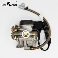 KELKONG PD18J With Grease 50CC Scooter Carburetor Moped Carb For 4 Stroke GY6 SUNL ROKETA JCL