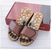 The pebbles massage health foot massage shoes Men and women Kind cool slippers at home man and woman foot massager/291127/4