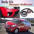 Bumper Lip Deflector Lips For KIA Venga Front Spoiler Skirt For TopGear Fans to Car Tuning Veiw / Body Kit / Strip