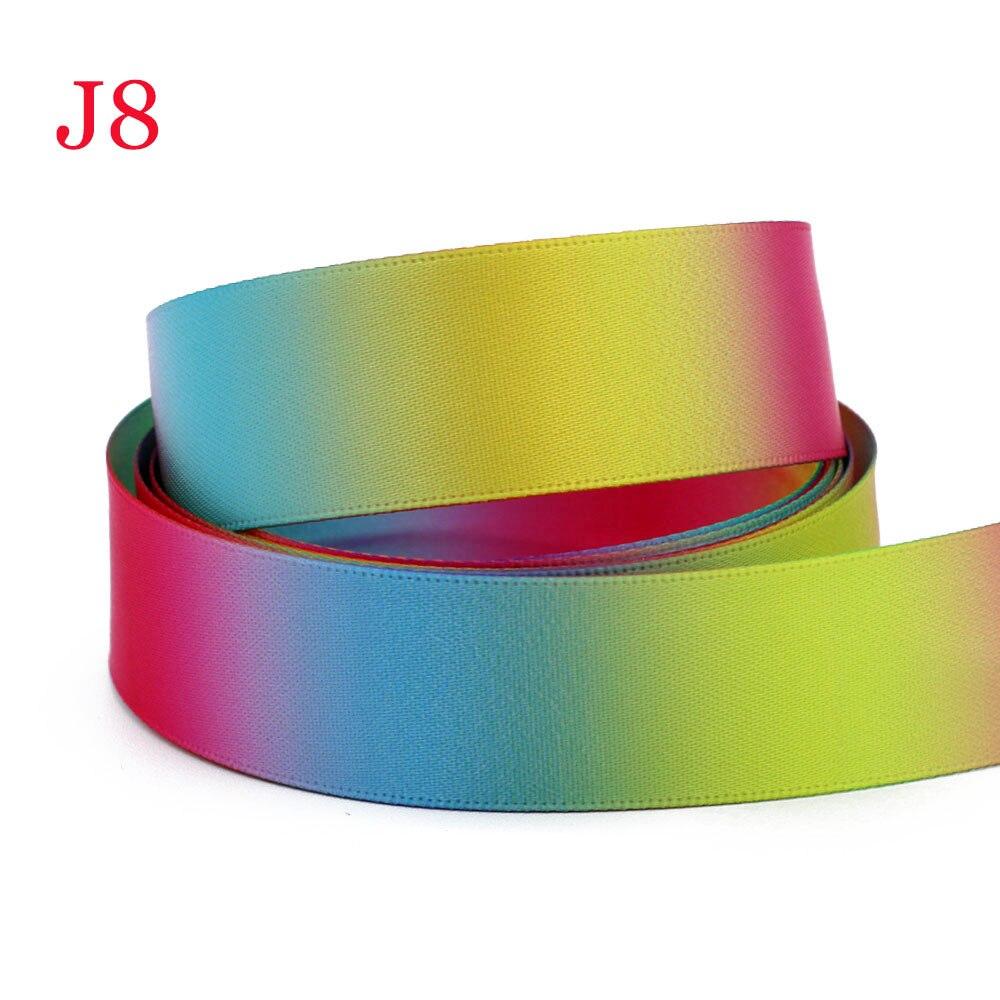 "5 Yds Colorful Stars Kids Child Satin Ribbon 7//8/""W"