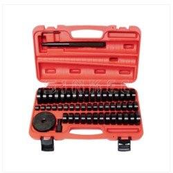 51 шт. пользовательские втулки подшипника уплотнения драйвер нажимной пресс дисковый инструмент Набор 18-65 мм SK1428