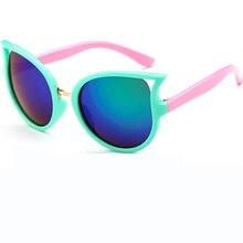2017 Nuevas gafas de Sol Para Niños Gafas de Sol Niño Anti-Ultravioleta Del Bebé Del Sol-shading Gafas Muchacha Del Muchacho gafas de Sol oculos gafas de sol