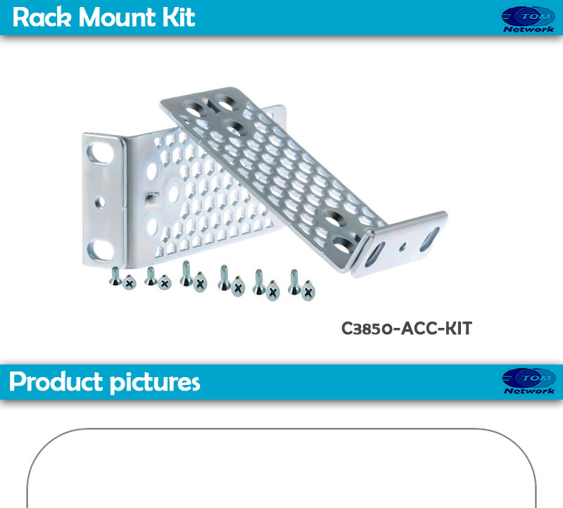Cisco C3850-ACC-KIT= CAT 3850 ACCESSORY KIT WITH 19IN RACK MOUNT