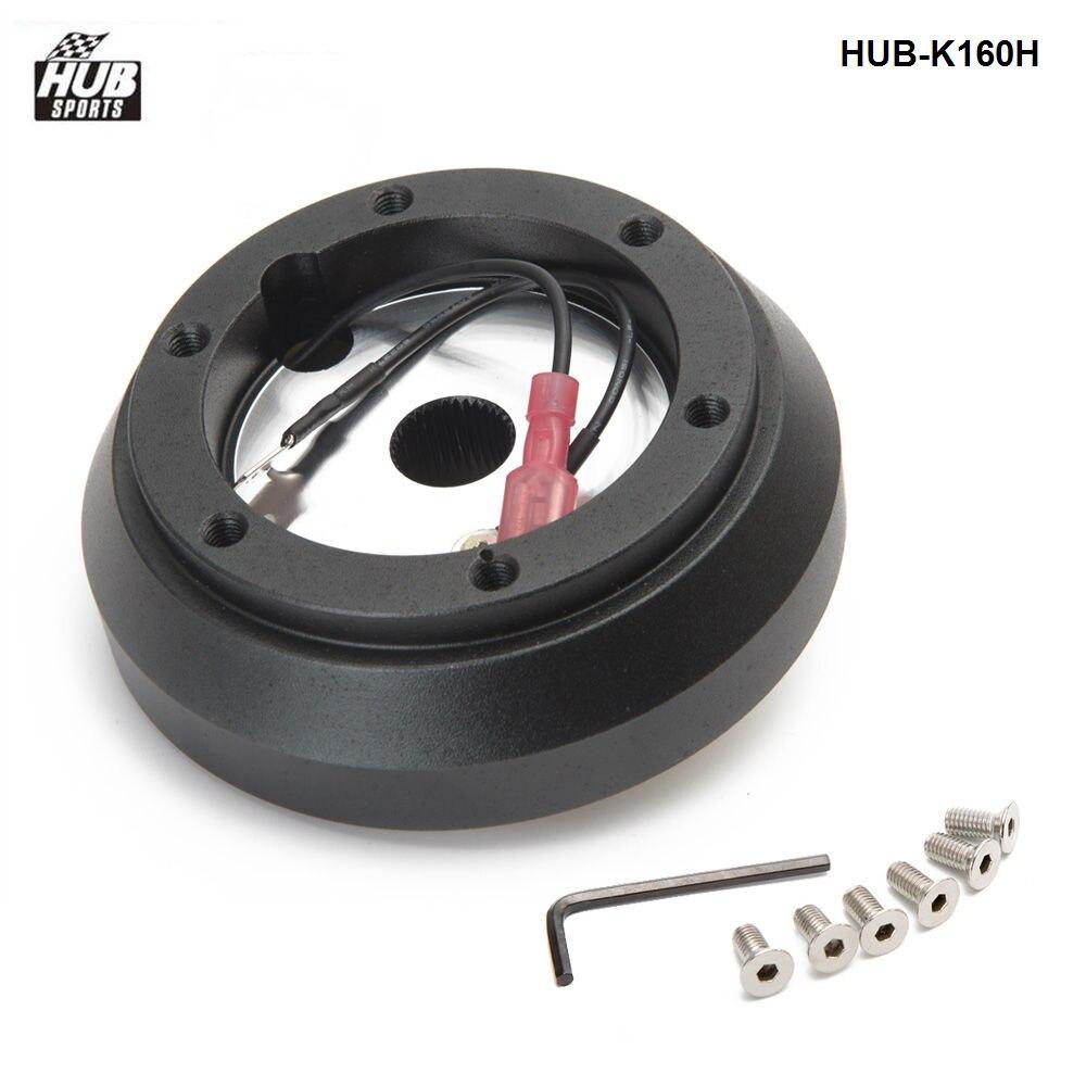 Short Hub Steering Wheel Adapter For Genesis Miata RX-7 RX-8 626 Protege Tiburon HUB-K160HShort Hub Steering Wheel Adapter For Genesis Miata RX-7 RX-8 626 Protege Tiburon HUB-K160H