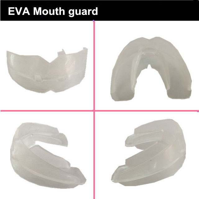 2 pieces Adult Very Soft Comfortable Double Layer Boxing Muay Thai Mouth  Guard Sports Safty Professinal