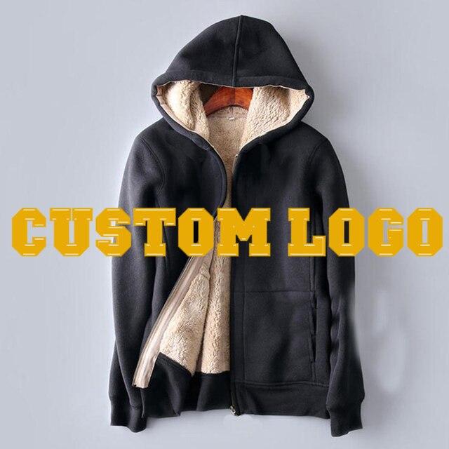 bbf6875c5fbb Custom Logo Winter Warm Faux Fur Berber Sherpa lined Coat Polar ...