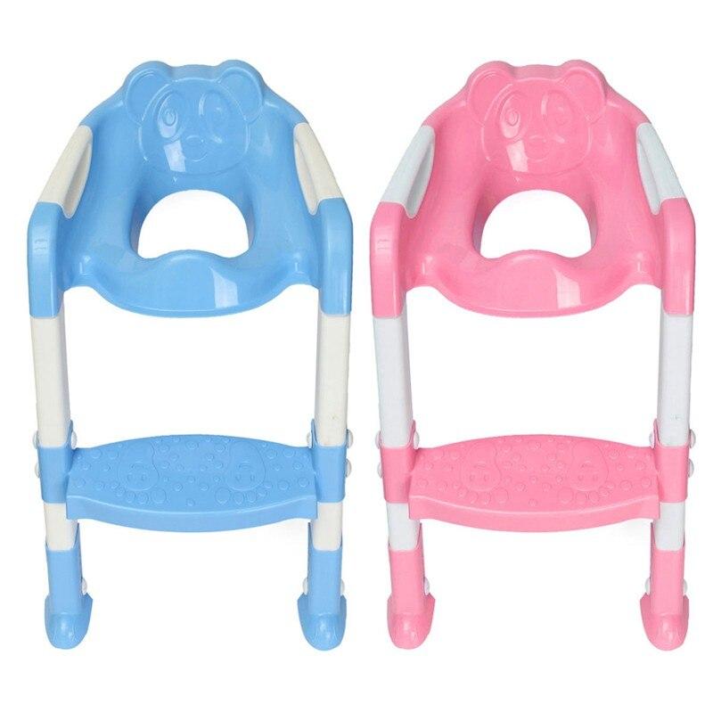 1 шт. Детские Дети незначительное Туалет Обучение Детская безопасность Регулируемая Лестница стул шаг
