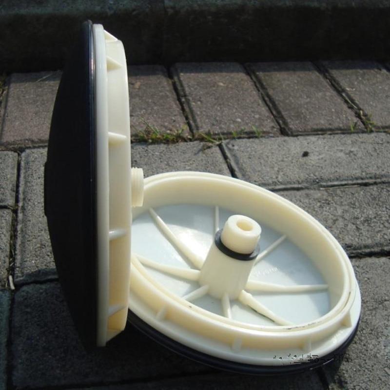 Tamanho: 215mm Diafragma EPDM Eficiente Arejador Diafragma De Borracha Microporosa Aeração Painel Difusor De Ar Peças de Tratamento de Águas Residuais