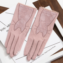 2019 WomenS Spring Festival Thin Gloves  Summer Sunscreen Breathable Driving Anti-Skid Touch Screen TBFS14