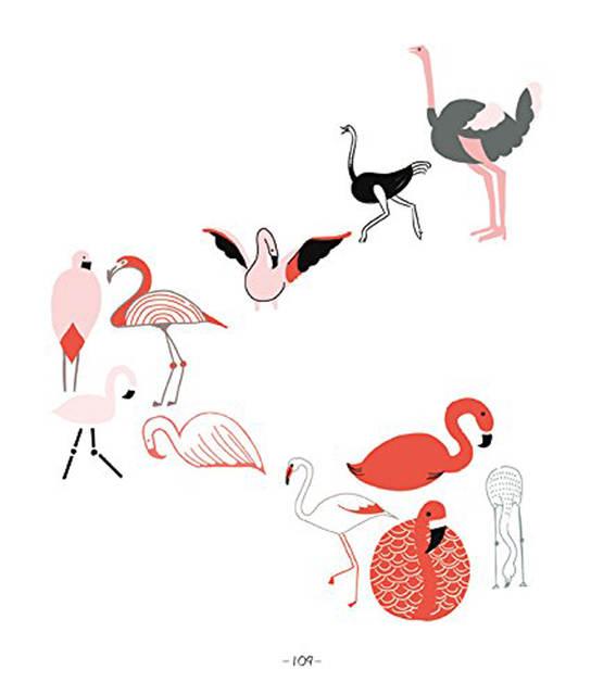 Cara Mewarnai Flamingo Download Gambar Mewarnai Gratis