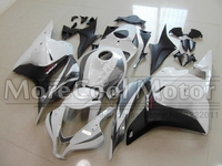 Complete ABS Plastic Injection White And Black Motorcycle Fairings For Honda CBR600RR F5 2009 - 2012 Motorbike Hulls Cowling