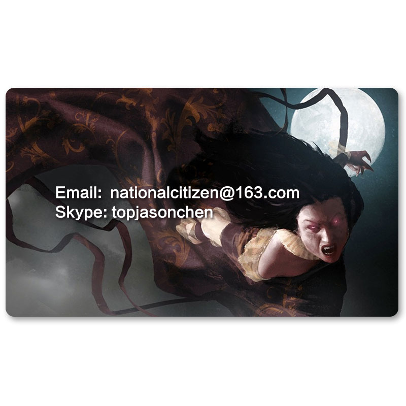 Many Playmat Choices - Fiend of the Shadows - MTG Board Game Mat Table Mat for Magical Mouse Mat the Gathering