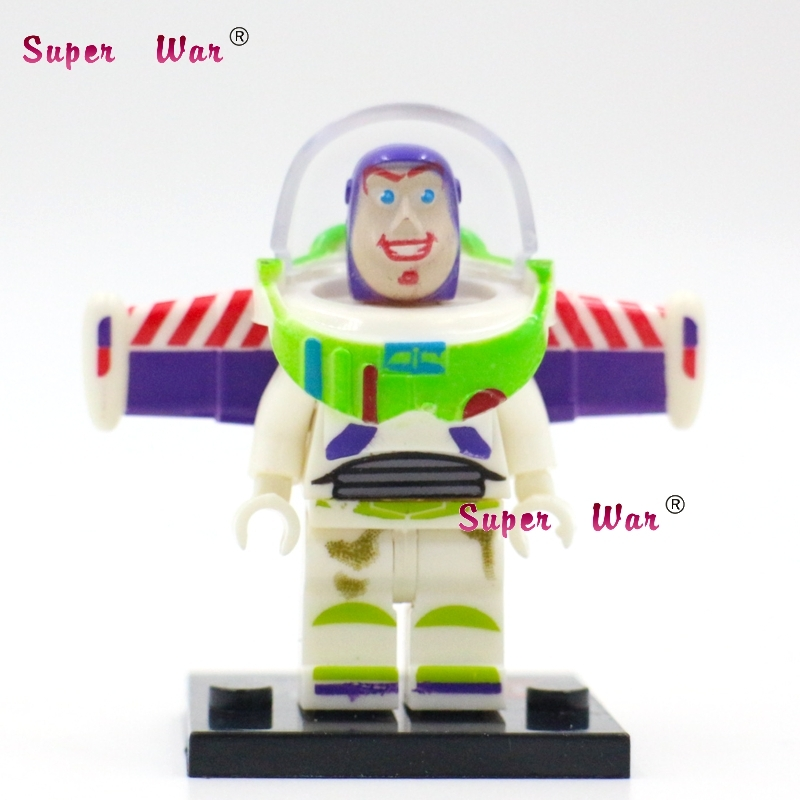 Single star wars super heroes marvel building blocks Toy Story Buzz Lightyear action figure model bricks toys for children