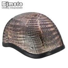 Bjmoto Half Motorbike Scooter Motorcycle motocross Helmet