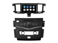 For Nissan Patrol 2009~2015 Car DVD Player Radio Stereo GPS Navigation HD Touch Screen Multimedia System