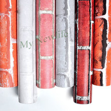 Self Adhesive Wall Paper Wall Rustic Kitchen Living Room TV Background Stone Wallpaper Brick tiles Sticker Home Decor 60*500cm brick stone wall paper chinese rustic vintage 3d stereoscopic wallpaper living room kitchen waterproof wallpaper wall covering