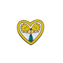 Cute Cartoon Pins Collection Arnold Heart Dress Brooch Cactus Denim Jackets Lapel Enamel Pin Jewelry