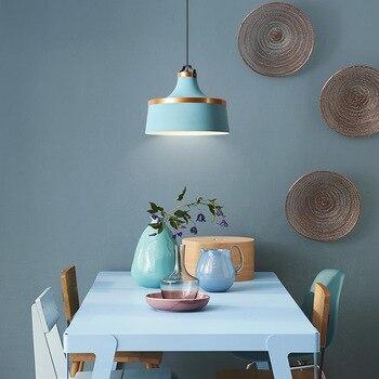 Скандинавский чердак макарун люстра постмодерн Креативный дизайнер многоцветный ресторан кухня столовая подвесной светильник светильник...