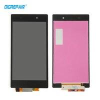 Đen Đối Với Sony Xperia Z1 L39H C6902 C6903 C6906 LCD Hiển Thị cảm ứng Digitizer Full Hội Thay Thế Điện Thoại Sửa Chữa Phần