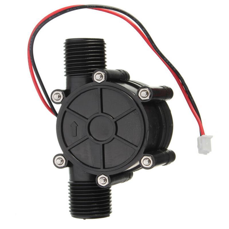 Nouveau! débit d'eau ensemble alternateur-turbine générateur hydroélectrique micro hydrogénérateur portable chargeur de l'eau 10 W