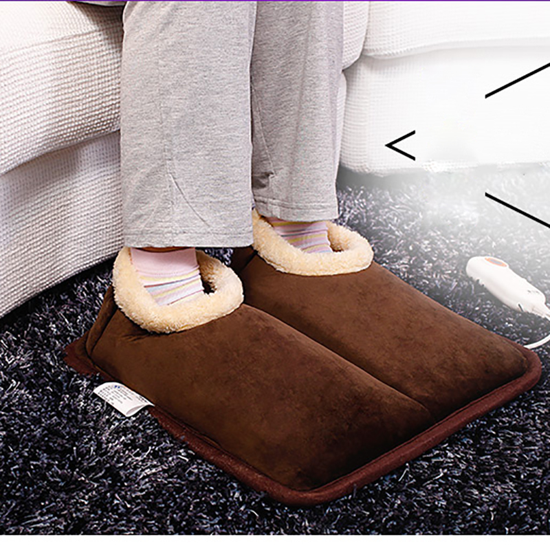 220V Heating Shoes Temperature Control Heater Electric Foot Warmer Heating Shoes Foot Hand Warmer Heating Winter Heater Soft dmwd foot warmer electric heater energy saving household heating office foot warmer warm foot